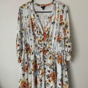 NWOT Torrid floral dress Size 1